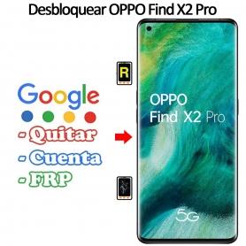 Eliminar Contraseña y Cuenta Google Oppo Find X2 Pro