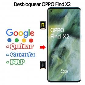 Eliminar Contraseña y Cuenta Google Oppo Find X2