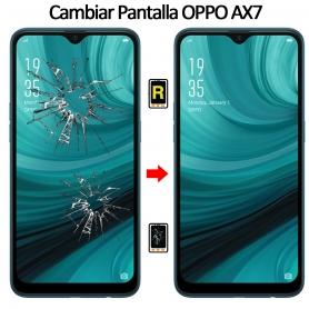 Cambiar Cristal De Pantalla Oppo AX7