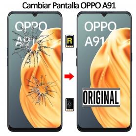Cambiar Pantalla Oppo A91 Original