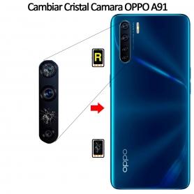 Cambiar Cristal Cámara Trasera Oppo A91
