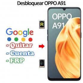 Eliminar Contraseña y Cuenta Google Oppo A91