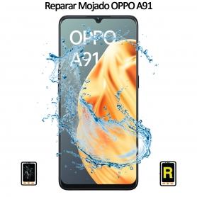 Reparar Mojado Oppo A91