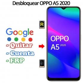 Eliminar Contraseña y Cuenta FRP Oppo A5 2020