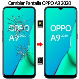 Cambiar Cristal De Pantalla Oppo A9 2020