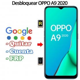 Eliminar Contraseña y Cuenta FRP Oppo A9 2020