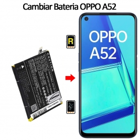 Cambiar Batería Oppo A52