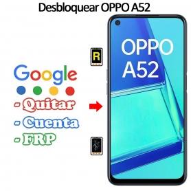 Eliminar Contraseña y Cuenta FRP Oppo A52
