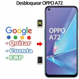 Eliminar Contraseña y Cuenta FRP Oppo A72
