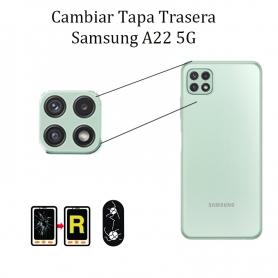 Cambiar Cristal Cámara Trasera Samsung Galaxy A22 5G