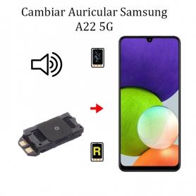 Cambiar Auricular De Llamada Samsung Galaxy A22 5G