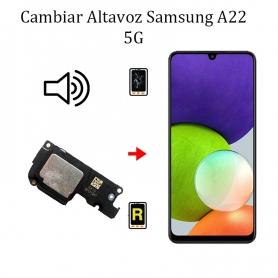 Cambiar Altavoz De Música Samsung Galaxy A22 5G