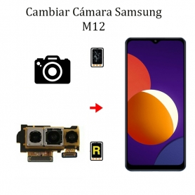 Cambiar Cámara Trasera Samsung Galaxy M12