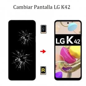 Cambiar Pantalla LG K42