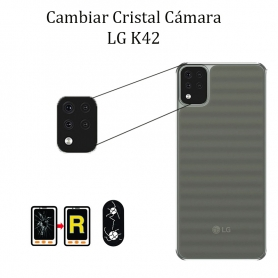 Cambiar Cristal Cámara Trasera LG K42