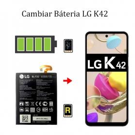 Cambiar Batería LG K42