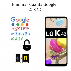 Eliminar Contraseña y Cuenta FRP LG K42