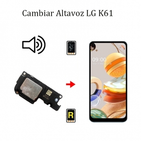 Cambiar Altavoz De Música LG K61