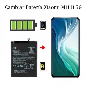 Cambiar Batería Xiaomi Mi 11i 5G