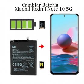 Cambiar Batería Xiaomi Redmi Note 10 5G