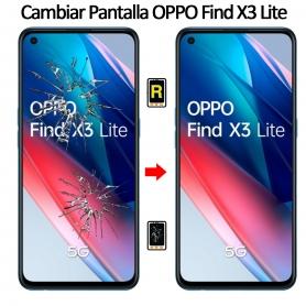 Cambiar Cristal De Pantalla Oppo Find X3 Lite