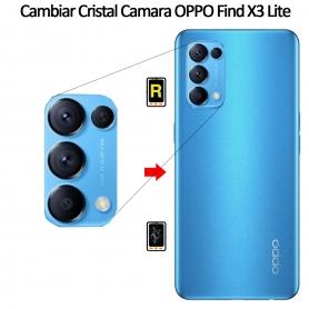 Cambiar Cristal Cámara Trasera Oppo Find X3 Lite