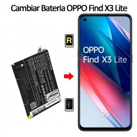 Cambiar Batería Oppo Find X3 Lite