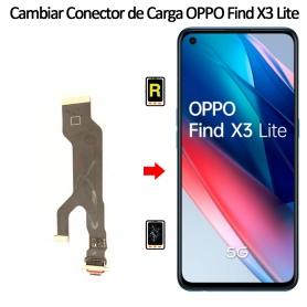 Cambiar Conector De Carga Oppo Find X3 Lite