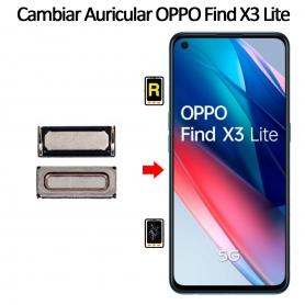 Cambiar Auricular De Llamada Oppo Find X3 Lite