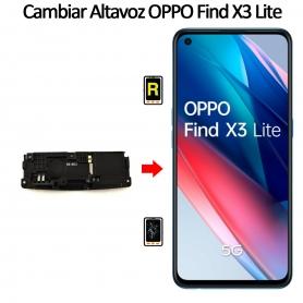 Cambiar Altavoz De Música Oppo Find X3 Lite