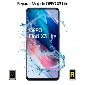 Reparar Mojado Oppo Find X3 Lite