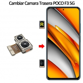 Cambiar Cámara Trasera Xiaomi Poco F3 5G