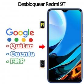 Eliminar Contraseña y Cuenta FRP Xiaomi Redmi 9T