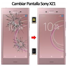Cambiar Cristal De Pantalla Sony Xperia XZ1