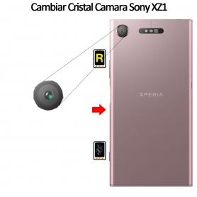 Cambiar Cristal Cámara Trasera Sony Xperia XZ1