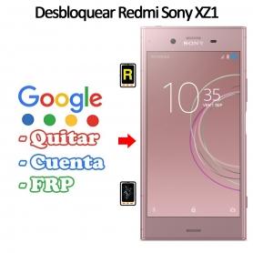 Eliminar Contraseña y Cuenta FRP Sony Xperia XZ1