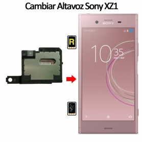 Cambiar Altavoz De Música Sony Xperia XZ1