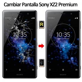 Cambiar Cristal De Pantalla Sony Xperia XZ2 Premium