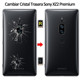 Cambiar Tapa Trasera Sony Xperia XZ2 Premium