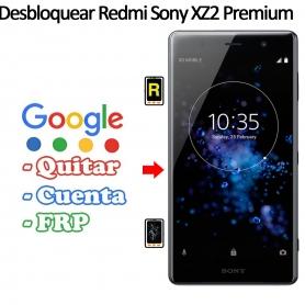Eliminar Contraseña y Cuenta FRP Sony Xperia XZ2 Premium