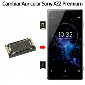 Cambiar Auricular De Llamada Sony Xperia XZ2 Premium