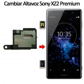 Cambiar Altavoz De Música Sony Xperia XZ2 Premium