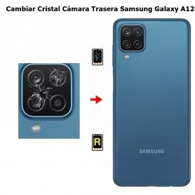 Cambiar Cristal Cámara Trasera Samsung Galaxy A12