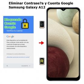 Eliminar Contraseña y Cuenta Google Samsung Galaxy A12