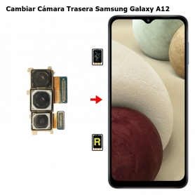 Cambiar Cámara Trasera Samsung Galaxy A12