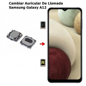 Cambiar Auricular De Llamada Samsung Galaxy A12