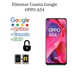 Eliminar Contraseña y Cuenta Google Oppo A54 5G