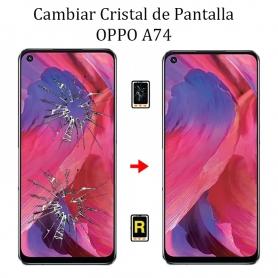 Cambiar Cristal De Pantalla Oppo A74