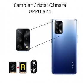Cambiar Cristal Cámara Trasera Oppo A74