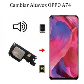 Cambiar Altavoz De Música Oppo A74